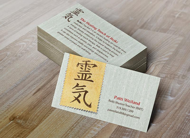 reiki-business-card